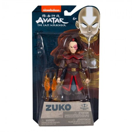 McFarlane Toys Avatar The Last Airbender Prince Zuko Action Figure