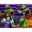 NECA TMNT Turtles In Time Wave 2 Set of 4