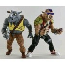 NECA TMNT Ninja Turtles Bebop & Rocksteady Cartoon 2 Pack