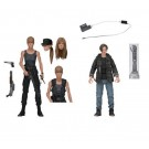 NECA Terminator 2 Sarah Connor & John Connor Action Figure 2 Pack