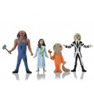 NECA Toony Terrors Wave 4 Set of 4 Including Beetlejuice