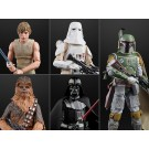 Star Wars 40th Anniversary Black Series Wave 3 Set of 5