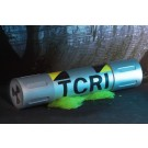 NECA TMNT 1990 Movie TCRI Mutagen Canister Prop Replica
