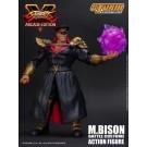 Traje de batalla de Bison de Street Fighter V M figura la escala 1:12