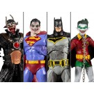McFarlane DC Universe Batman Metals The Merciless Set of 4 Action Figures
