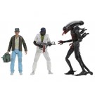 NECA Alien 40th Anniversary Series 15 Set de 3 Brett Parker & Big Chap