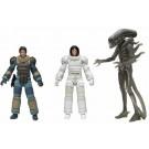 NECA Alien 40th Anniversary Wave 4 Set of 3 - Ripley, Lambert and Giger Alien