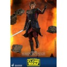 Juguetes calientes Anakin Skywalker Clone Wars 1/6th Escala Figura de Acción