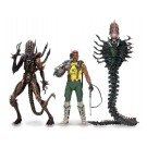 NECA Aliens Sgt Apone, Snake Alien & Scorpion Alien Set of 3