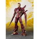 S.H. Figuarts Vengadores infinito guerra hierro hombre MK50 Nano armas Set