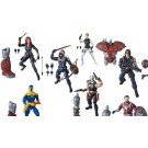 Black Widow Marvel Legends Set of 7 Crimson Dynamo BAF