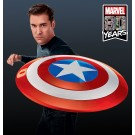 Marvel Legends Capitán América 1:1 Escala Comic Shield Réplica