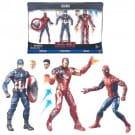 Marvel Legends Captain America Civil War Action Figure 3 Pack