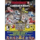Transformers Combiner Wars Sticker Sheet No 2 Defensor / Optimus Maximus