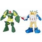 Transformadores Titanes volver leyendas Seaspray y Cosmos