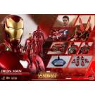 Juguetes calientes Iron Man MK50 Infinity Guerra Figura de Acción MMS473 D23
