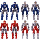 Diaclone DA-04 Dia-Naughts Version 3 Set of 8