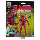 Marvel Legends X-Force Retro Deadpool Covention Figura de acción exclusiva