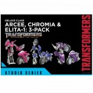 Transformers Studio Series Deluxe Arcee, Chromia & Elita 1 3 Pack