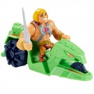 Masters Of The Universe Eternia Mini's He-Man and Ground Ripper Vehicle