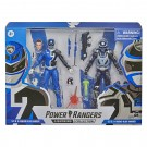 Power Rangers Lightning Collection S.P.D B Squad Blue Ranger and A Squad Blue Ranger
