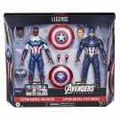 Marvel Legends Captain America Stever Rogers & Sam Wilson 2 Pack