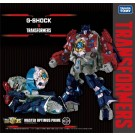 G-Shock x Transformers Optimus Prime Action Figure Watch Pedestal