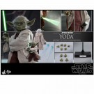 Hot Toys Star Wars Attack Of The Clones Master Yoda 1/6th Scale Figure