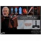 Hot Toys Star Wars Attack Of The Clones Count Dooku 1/6th Scale Figure