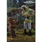 Hot Toys Star Wars Return Of The Jedi Princess Leia & Wicket The Ewok 1/6 Scale Figures