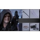 Hot Toys Return Of The Jedi Emperor Palpatine 1/6th Scale Figure