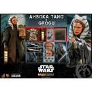 Hot Toys Star Wars The Mandalorian 2 Pack Ahsoka Tano & Grogu 1/6 Scale Figures