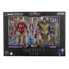 Marvel Legends Infinity Saga Iron Man Vs Thanos 2 Pack