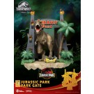 Beast Kingdom D-Stage Jurassic Park Gate Diorama 15cm