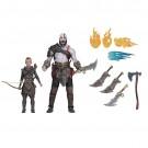 NECA Dios de la guerra Kratos Ultimate & Atrida 2 Pack