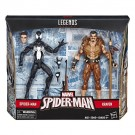 Marvel Legends Kraven & Symbiote Spider-Man Last Hunt 2 Pack