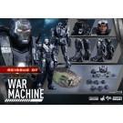 Hot Toys Iron Man 2 War Machine 1/6 Scale Figure ( Reissue )