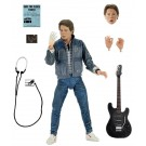 NECA Back to the Future Marty McFly Guitar Audition Action Figure