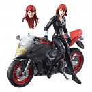 Marvel Legends jinetes Ultimate Black Widow