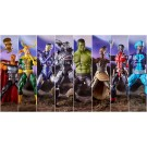 Marvel Legends Avengers Endgame Wave 2 Set of 7 Hulk BAF