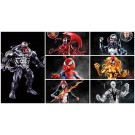 Marvel Legends Spider-Man Monster Venom Set of 6