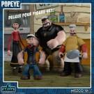 Mezco Popeye Classic Comic Strip Deluxe Box Set