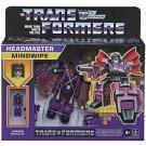 Transformers Retro Headmaster Mindwipe and Vorath