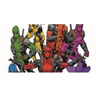 Marvel Legends 3.75 pulgadas Deadpool arco iris Escuadrón 5 Pack