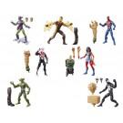 Marvel Legends Spider-Man Sandman Build A Figure Set of 7
