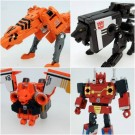 Transformers Masterpiece MP-15E / 16E Cassettebot Vs Cassettron