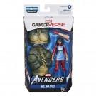 Marvel Legends Gamerverse Ms Marvel Figura de acción de 6 pulgadas