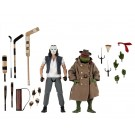 NECA Teenage Mutant Ninja Turtles Movie Disguise Raphael & Casey Jones Action Figure 2 Pack