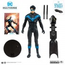 McFarlane DC Multiverse Rebirth Nightwing Action Figure ( Batmobile Build A Figure )