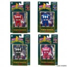 Power Rangers Retro Figure Set of 4 - Pink, Black, Red and Blue Ranger